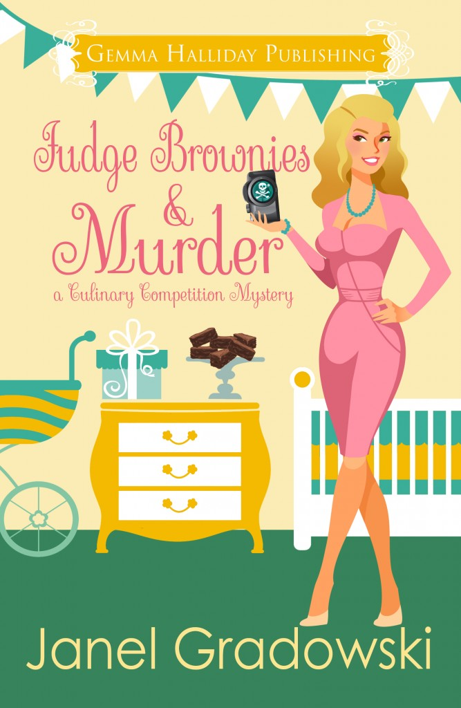 Fudge Brownies & Murder by Janel Gradowski
