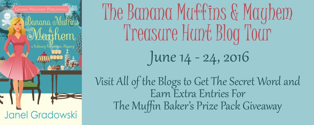 Banana Muffins & Mayhem Treasure Hunt Blog Tour