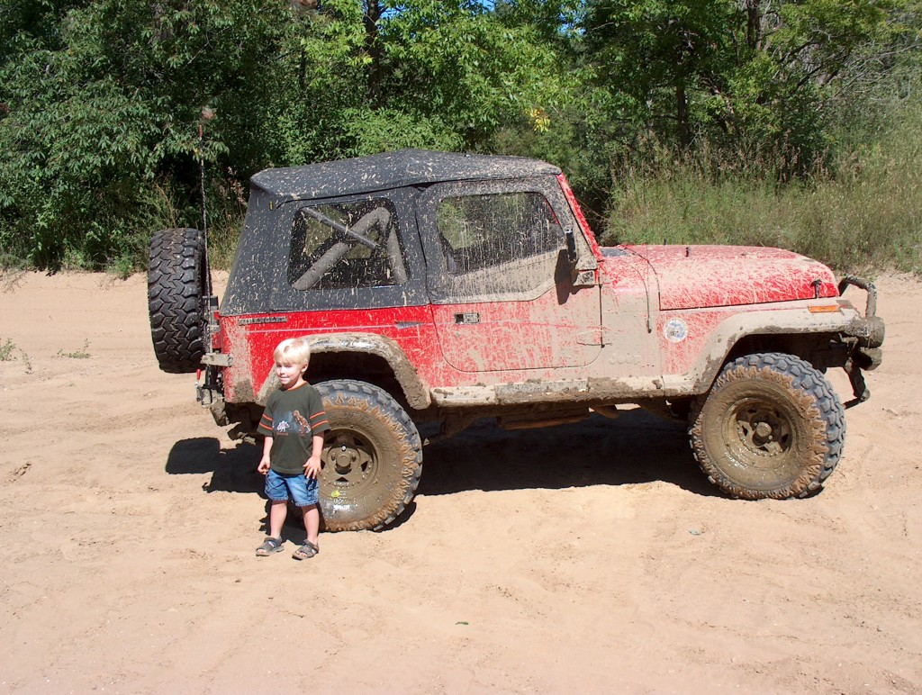 He has loved Jeeps for a long time!